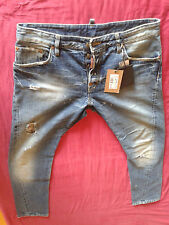 Dsquared2 Distressed Big & Tall Size Jeans for Men