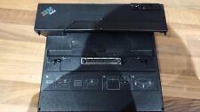 IBM Lenovo ThinkPad T42p T43p T40 T30 Docking Station Port Replicator II 74P6733