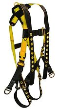 FallTech Fall Protection Safety Construction Body Harness Lanyard Keepers Medium
