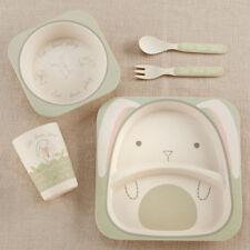 Baby Bamboo Bunny 5 Piece Feeding Set Baby Shower Gift