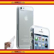Funda de Silicona Translucida Tpu Para Apple Iphone 5 / 5s Carcasa Cover Case