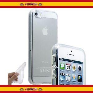 Funda Translucida Silicona Tpu Para Apple Iphone 5 / 5S transparente gel