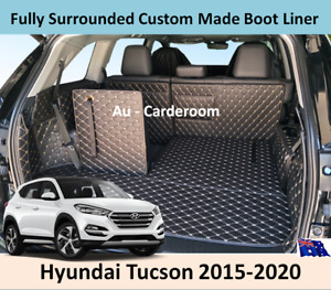 Hyundai Tucson 2015-2020 Custom Made Trunk Boot Mats Liner Cargo Mat Cover Mats