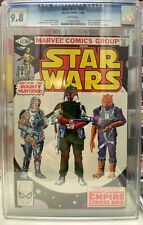 Marvel Star Wars 42 CGC 9.8 1st Appearance of Boba Fett White Pages RARE 🤓 🤖