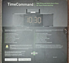 Stem Time Command Audio Alarm Dock for iPod, iPhone and iPad NEW IN BOX GR8 4 GI