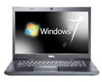 "Dell Laptop Windows 7 Pro 64 - 17.3"" LCD - I5 2.3 - 8GB - 320GB  - Number Keypad"