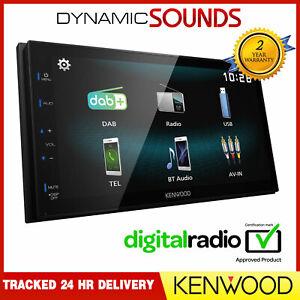 "Kenwood DMX125DAB 6.8"" Touchscreen Bluetooth Car Stereo DAB+ AV Receiver"