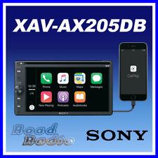 """Sony XAV-AX205DB 6.4"""" DAB DVD USB Bluetooth Receiver Apple CarPlay Android Auto"""