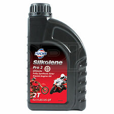 Silkolene Pro 2 Completa sintéticas Ester 2t Moto Premix Racing Engine - 1 Litro