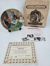 """The Sound Of Music """"Edelweiss� Knowles Collector's Plate #5 in Series"""