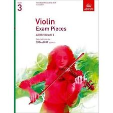 Violin Exam Pieces 2016-2019 ABRSM Grade 3 Score Part Selected From The 201