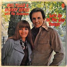 Mel Tillis & Sherry Bryce Let's Go All the Way Tonight LP NM Vinyl Mr Right Mrs