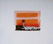 Rossello Mario (Savona, 1927- Milano, 2000)-Nudo-(1974)Acquaforte-Ed.Grafica Uno