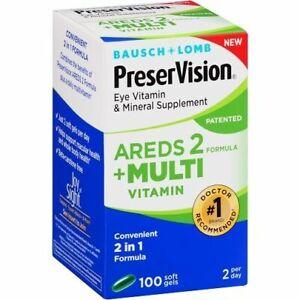 Bausch & Lomb PreserVision AREDS 2 + Multi Vitamin