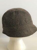 Club Monaco Women's Size Small Brown Wool Blend Walking Hat