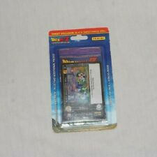 Dragonball Z Target Exclusive 3 Boosters plus Black Drill NEW