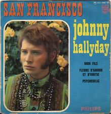 "JOHNNY HALLYDAY ""SAN FRANCISCO"" 60'S EP PHILIPS 437.380"
