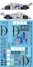 1/24 SAUBER C9 LM '89 + SUZUKA '89 + SUZUKA '90 3-in-1 DECAL for TAMIYA HASEGAWA