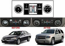 Manual AC Button Repair Kit Replacement For 2007-2013 GM Vehicles Decal Stickers