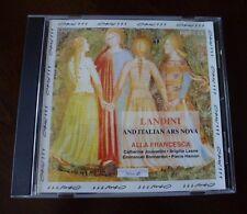Francesco Landini & Italian Ars Nova (14th Century) - Alla Francesca (CD, Orfeo)