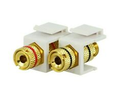 Commercial Electric TECH Gold Plated 2 Pack Binding Posts