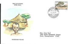 BURKINA FASO 1981 FIRST DAY COVER KOUDOUGOU VILLAGE