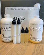Olaplex No.1& No.2 30/60ml 2 x Super Salon Service Damaged Hair PLEASE READ