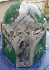 Star wars mandalorian/bounty hunter style wearable helmet