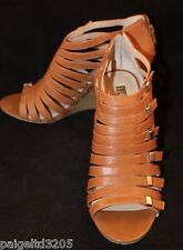 INC International Concepts Women's Dionne Tan Brown Wedge Sandal Shoes Size 8M