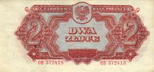 05 Poland / Polen P106 2 Zlote 1944 Prefix OB