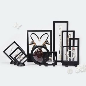 PE Thin Film Suspension Jewelry Display Box Storage for Ring Necklace Braclet