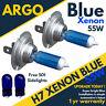 H7 55w 8500k Xenon Ventilador Azul Hielo Efecto Faro Luces Bombillas T10 501 12v