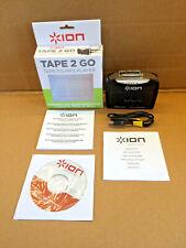 ION Audio Tape 2 Go Portable Analog to MP3 Digital Cassette Converter USB
