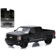 Greenlight 2015 Chevrolet Silverado 1500 Black Bandit Pickup 1:64 Black 27790-F