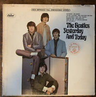 Vintage Vinyl Record The Beatles Yesterday and Today lp Rainbow Record print