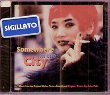 """THE ORIGINAL SOUNDTRACK """" SOMEWHERE IN THE CITY """" CD SIGILLATO 1998"""