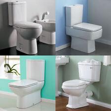 Ceramic Close Coupled Toilets & Bidets