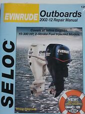 EVINRUDE OUTBOARD SERVICE MANUAL 2002 to 2012 15 HP to 300 HP SELOC  1313