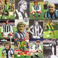 Topical Times Football Annual A4 Pictures West Bromwich Albion - Various Players