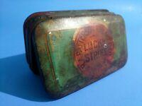 Vintage Patterson Tobacco Co. LUCKY STRIKE TIN / Fair Condition / Cut Plug