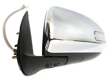NEW DOOR MIRROR ELECTRIC CHROME W/IND for TOYOTA HILUX SR5 9/2011-6/2015 LEFT LH