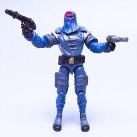 2002 Hasbro GI Joe COBRA COMMANDER v13 Figure w' x2 Weapons | Free Shipping !