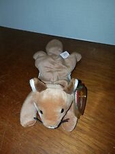 Ty Beanie Baby Sly the Fox VERY RARE with FACTORY ERROR!!
