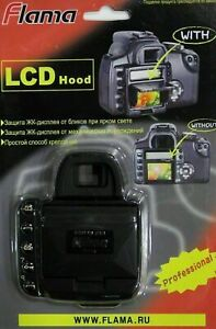Pop-Up Shade LCD Screen Hood Cover for NIKON D200
