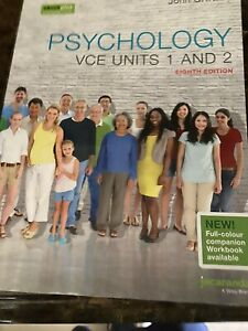 Psychology VCE Units 1 And 2 Eighth Edition