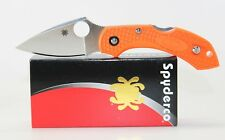 Spyderco DRAGONFLY 2 Knife Orange FRN Handle C28POR2 Plain Edge