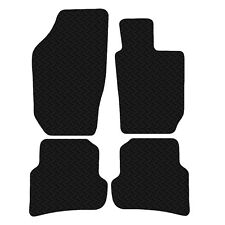 Seat Ibiza 2008 - Onwards Black Floor Rubber Fully Tailored Car Mats 3mm 4pc Set