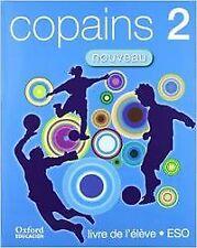 (07).COPAINS NOUVEAU 2º.ESO LIBRO (+CD+LECT) FRANCES. ENVÍO URGENTE (ESPAÑA)
