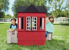 Little Tikes Cape Cottage Red Tan Playhouse House Official