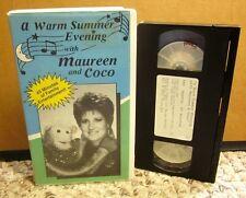 WARM SUMMER EVENING Maureen Schiffman Coco puppet kazoo VHS children's songs